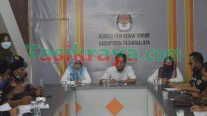 Pendukung Iwan-Iip Kembali Audiensi,  Tuding KPU Kabupaten Tasikmalaya Plin-plan