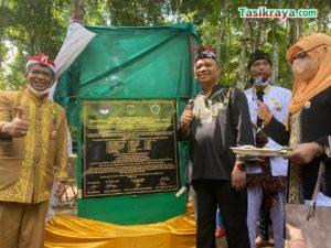 Situs Circle Stone Jahiang Salawu Diresmikan Ketua DPRD Kabupaten Tasikmalaya