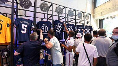 Pendapatan PSG dari Penjualan Jersey Messi