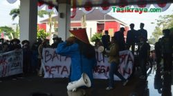 PMII Kota Tasikmalaya Demo Walikota, Soroti Masalah Pertanian