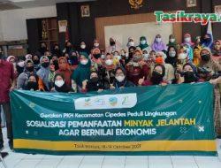 PKH Cipedes Launching Gerakan Peduli Lingkungan Sekaligus Pemberdayaan KPM