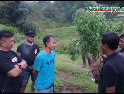 Polreskab Tasikmalaya Bongkar Ladang Ganja di Bantarkalong